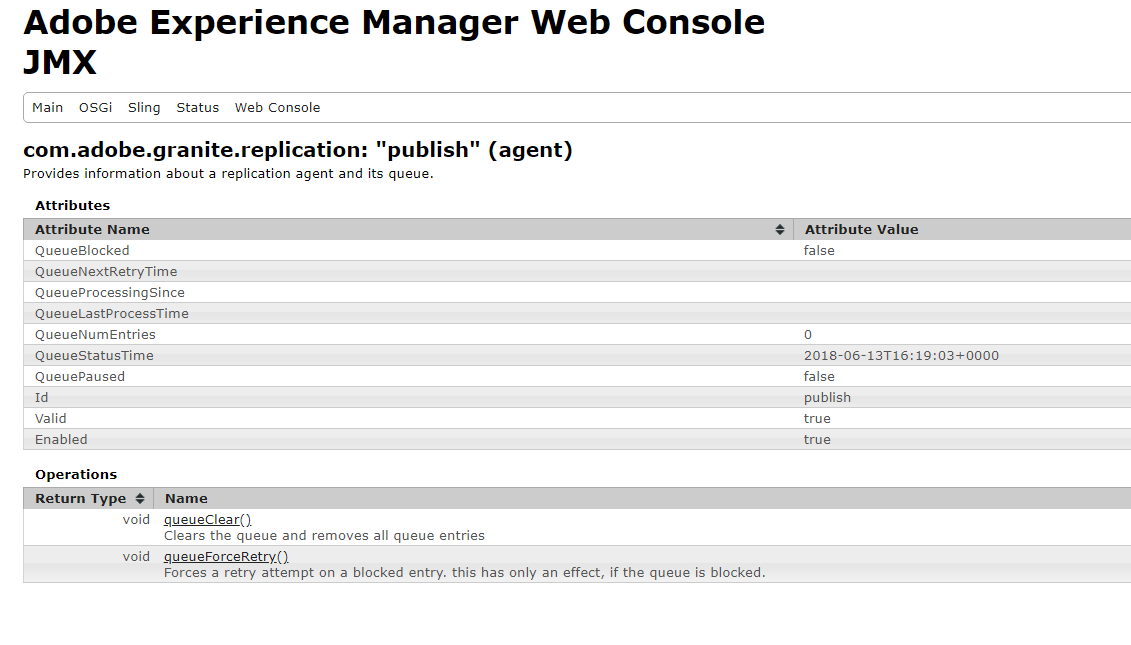 Monitor AEM JMX replication agent using New Relic - Java
