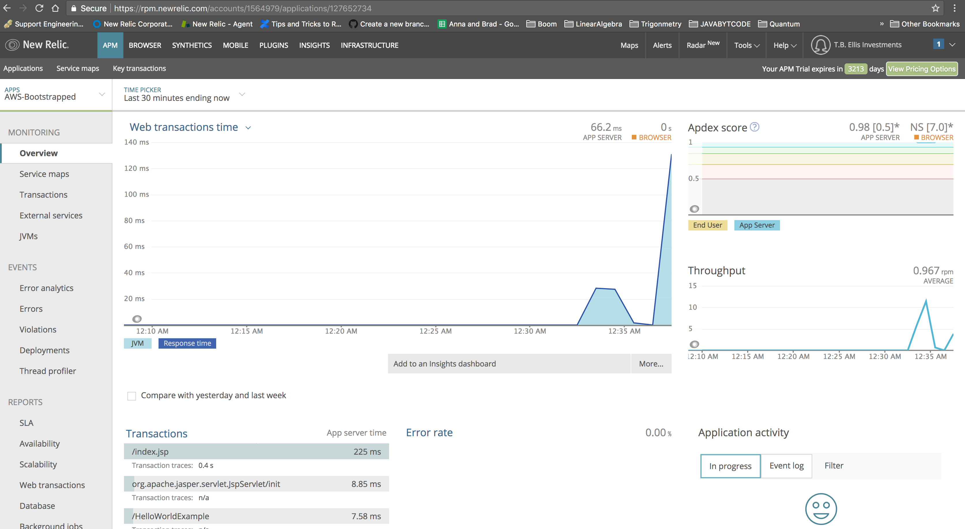 Relic Solution: Bootstrap the Java Agent to Your AWS AMI