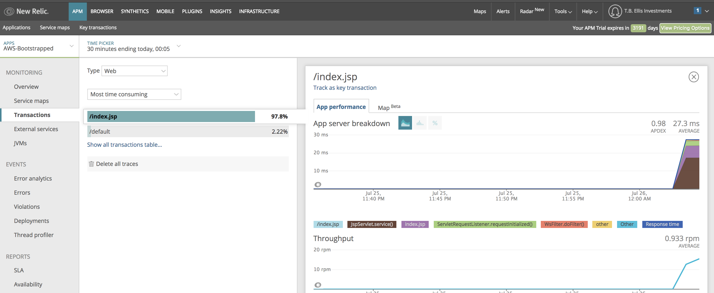 Relic Solution: APM with CloudFormation #codeyourinfrastructure #apm